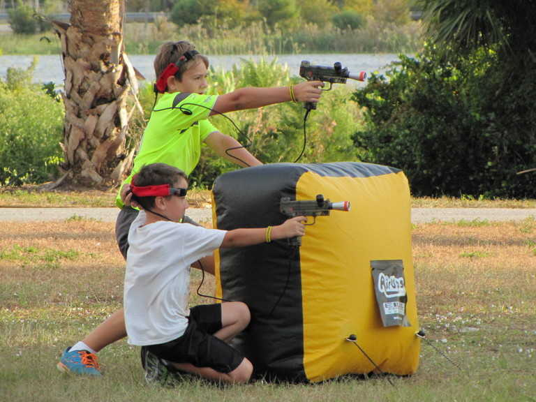 Laser Tag and Barriers