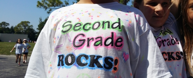 Lighthouse Elementary Second Grade Rocks 2014